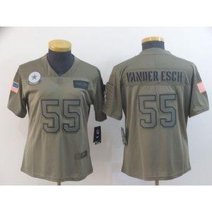 Women Dallas Cowboys Leighton Vander Esch Jersey